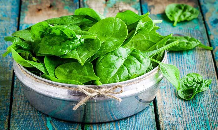 leafy greens intake diet